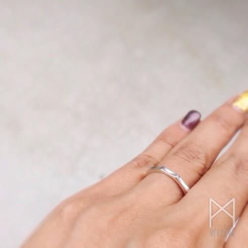 オリジナル結婚指輪【鼓動】