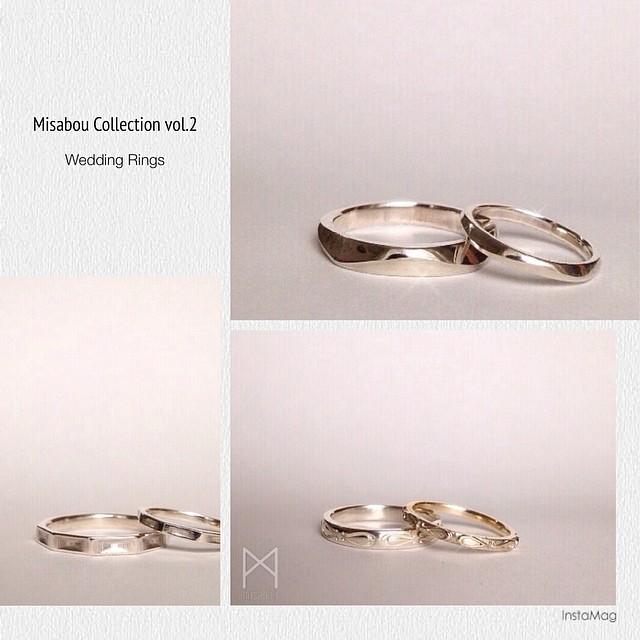 Wedding rings by Misabou近々、デビュー(予定)の子たち第2組오리지널 결혼반지들~데뷔한다~
