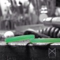 プラチナで木目モチーフのマリッジリング製作中|オーダーメイド