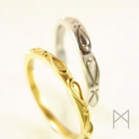 「出逢った頃」を思い出させてくれる結婚指輪(マリッジリング)