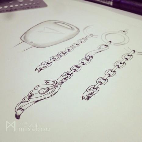 メンズ用シルバー羽デザイン★キーアクセサリー|オーダーメイド