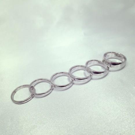 リングの幅を選べるマリッジリング(結婚指輪)