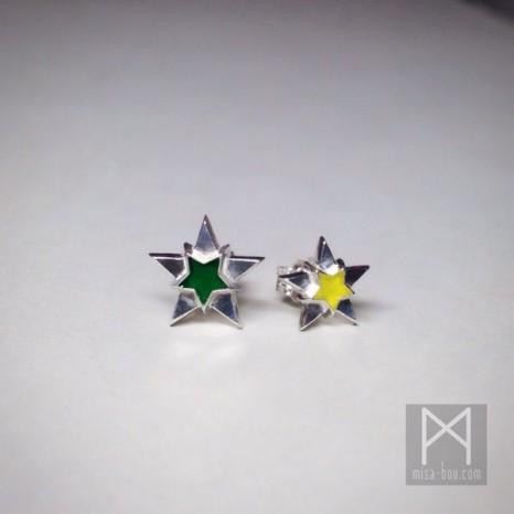 星ピアス(片耳用)-オーダーメイド