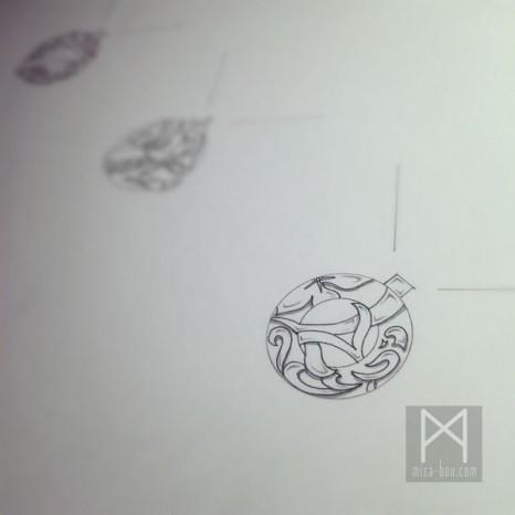3種類モチーフリング&ネックレス|デザイン編