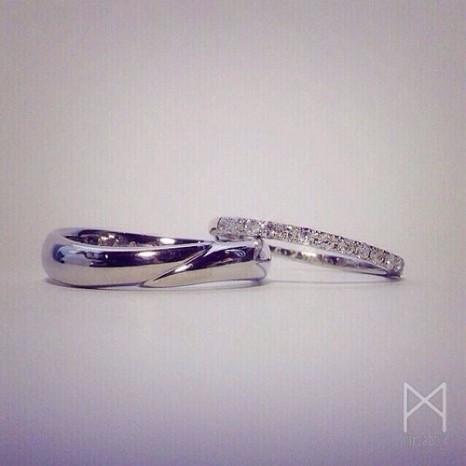 結婚指輪マリッジリング|ジュエリー工房Miasbou