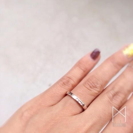 オリジナル結婚指輪【咲華】