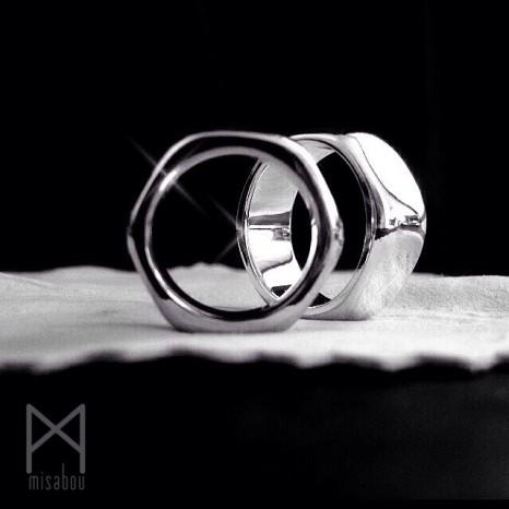 六角形マリッジリング☆幸福多角形☆バランスや調和の象徴