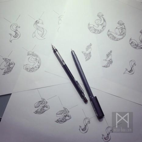 きれいめワイルドなメンズシルバーネックレス|デザイン編