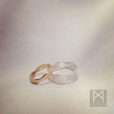 結婚指輪とダイヤリングのオーダーメイド①