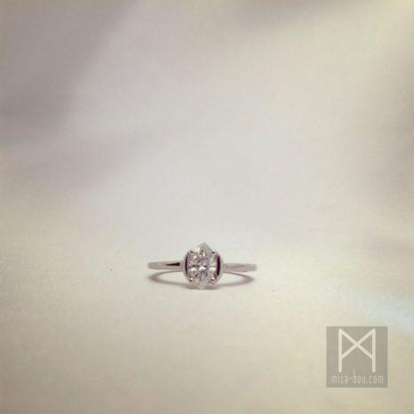 結婚指輪とダイヤリングのオーダーメイド②