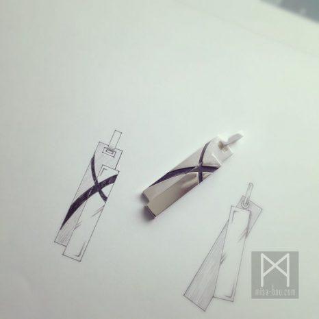 飽きのこないメンズ用シルバーネックレス|オーダーメイド